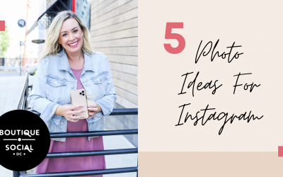 5 Photo Ideas For Instagram