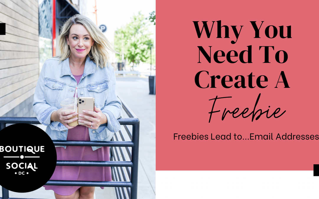 Ideas for Freebies and Why You Need To Create A Freebie Today