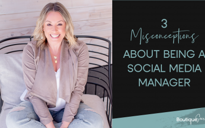 3 Misconceptions About Being a Social Media Manager