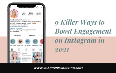 9 Killer Ways to Boost Engagement on Instagram in 2021