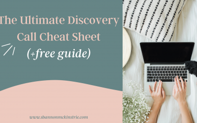 The Ultimate Discovery Call Cheat Sheet (+free guide)